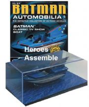 DC Batman Automobilia Collection #24 Bat Boat Classic TV Series Batmobile Eaglemoss
